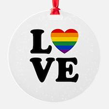 Gay Love Ornament