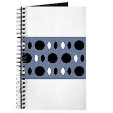 Almond Eye Shapes Grey Gray Designer Journal