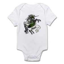 Blair Tartan Unicorn Infant Bodysuit