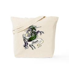 Blair Tartan Unicorn Tote Bag
