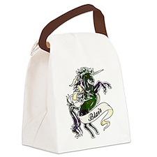 Blair Tartan Unicorn Canvas Lunch Bag