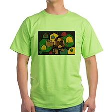Box Turtle Abstract Art T-Shirt