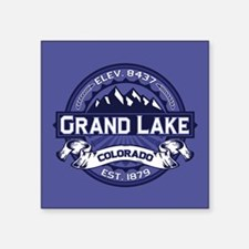 "Grand Lake Midnight Square Sticker 3"" x 3"""