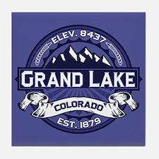Grand Lake Midnight Tile Coaster