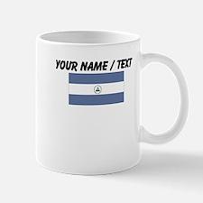 Custom Nicaragua Flag Mug