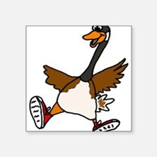 Cute Silly Goose Sticker