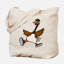 Cute Silly Goose Tote Bag