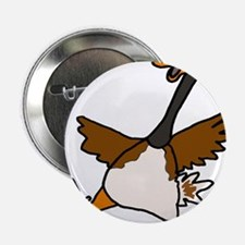 "Cute Silly Goose 2.25"" Button"