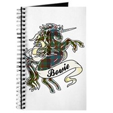 Bowie Tartan Unicorn Journal
