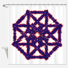 Tesseract Shower Curtain