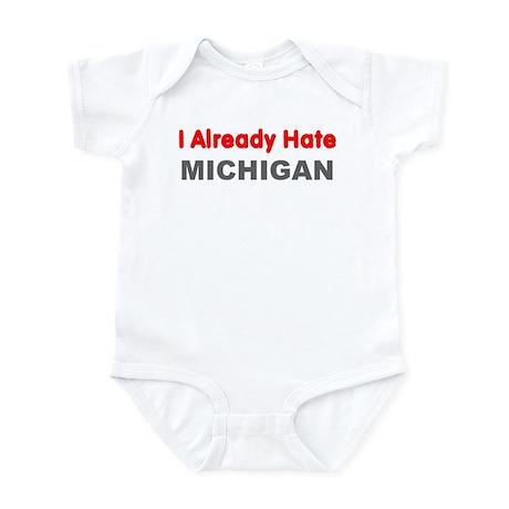 I Hate Michigan Bodysuit