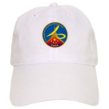 10 Years Of Manned Flight Cap