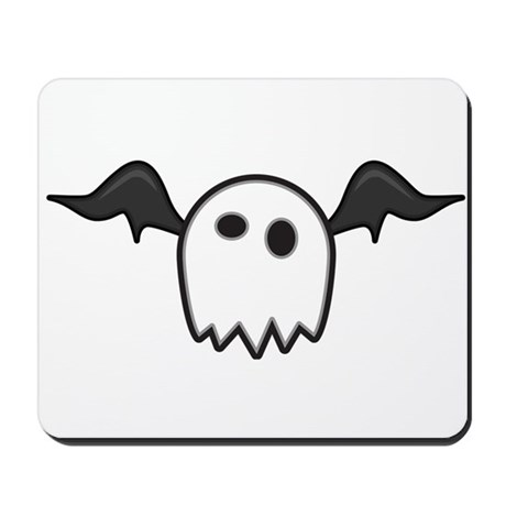 Ghost With Wings Mousepad