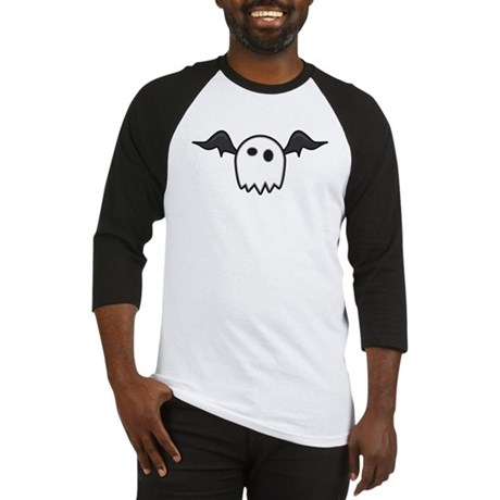 Ghost With Wings Baseball Jersey