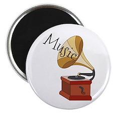 "Music 2.25"" Magnet (100 pack)"