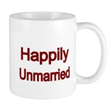 Happily Unmarried-Red Mug