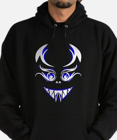 Scary Blue Face Hoody