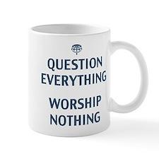 Question Everything Small Mug