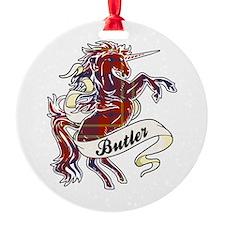 Butler Unicorn Ornament
