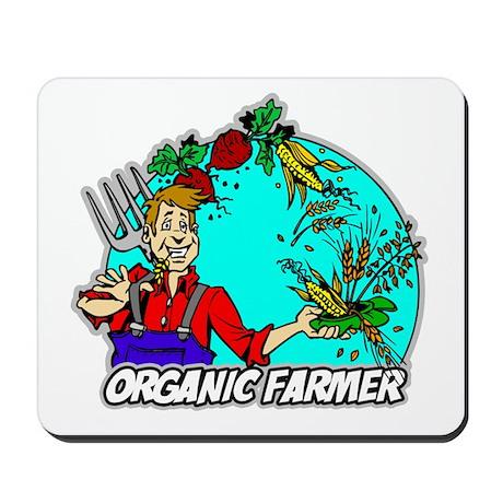 Organic Farmer Mousepad