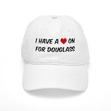 Heart on for Douglass Baseball Cap