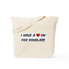 Heart on for Douglass Tote Bag