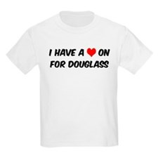 Heart on for Douglass Kids T-Shirt