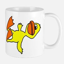 Funny Dead Duck Cartoon Mug