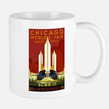 Vintage Chicago Worlds Fair Mug