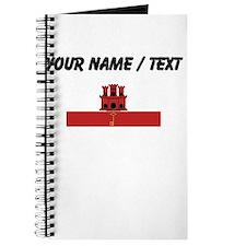 Custom Gibraltar Flag Journal
