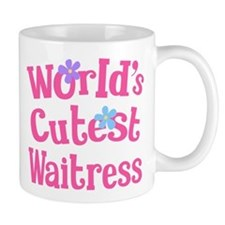 Worlds Cutest Waitress Mug