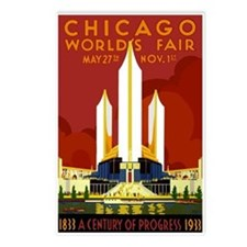 Vintage Chicago Worlds Fair Postcards (Package of