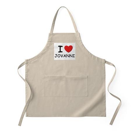 I love Jovanni BBQ Apron