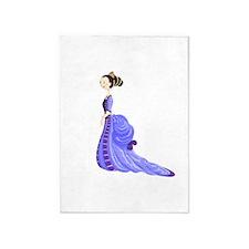 Purple Princess 5'x7' Area Rug