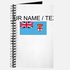 Custom Fiji Flag Journal