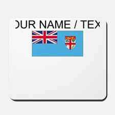 Custom Fiji Flag Mousepad