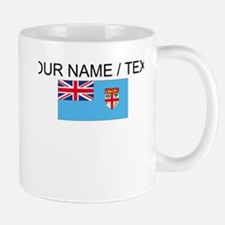 Custom Fiji Flag Small Small Mug