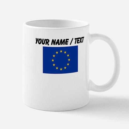 Custom European Union Flag Mug