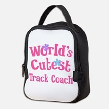 Worlds Cutest Track Coach Neoprene Lunch Bag