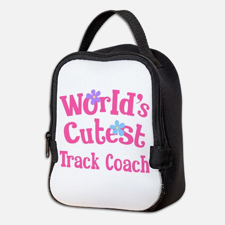 Worlds Cutest Track Coach Neoprene Lunch Bag