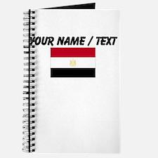 Custom Egypt Flag Journal