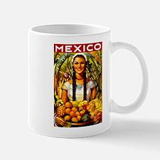 Vintage Mexico Fruit Travel Mug