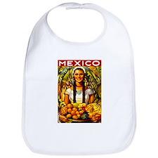 Vintage Mexico Fruit Travel Bib