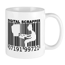 Digital Scrapper Barcode Coffee Mug