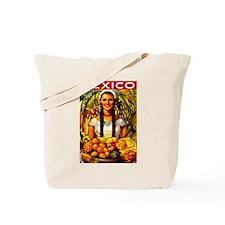 Vintage Mexico Fruit Travel Tote Bag
