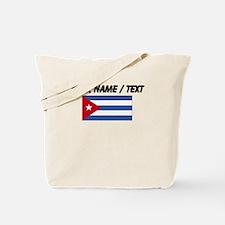 Custom Cuba Flag Tote Bag