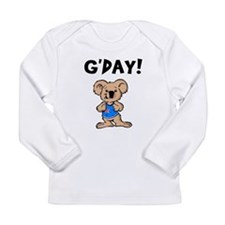 Australian Koala G'Day Long Sleeve T-Shirt
