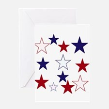 Stars for the 4th Greeting Card