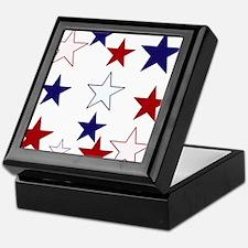 Stars for the 4th Keepsake Box