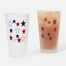 Stars for the 4th Drinking Glass